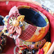 """Украшения ручной работы. Ярмарка Мастеров - ручная работа Браслеты лоскутные""""Вудсток"""". Handmade."""