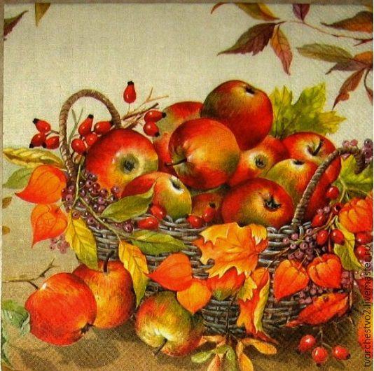 картинки для декупажа осень
