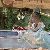 Картины и панно ручной работы. Ярмарка Мастеров - ручная работа зима. Handmade.