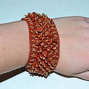 Украшения handmade. Livemaster - original item Bracelet beaded fur.. Handmade.