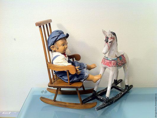 Винтажные куклы и игрушки. Ярмарка Мастеров - ручная работа. Купить Лошадки для куклы или мишки. Handmade. Антик, фарфоровая кукла