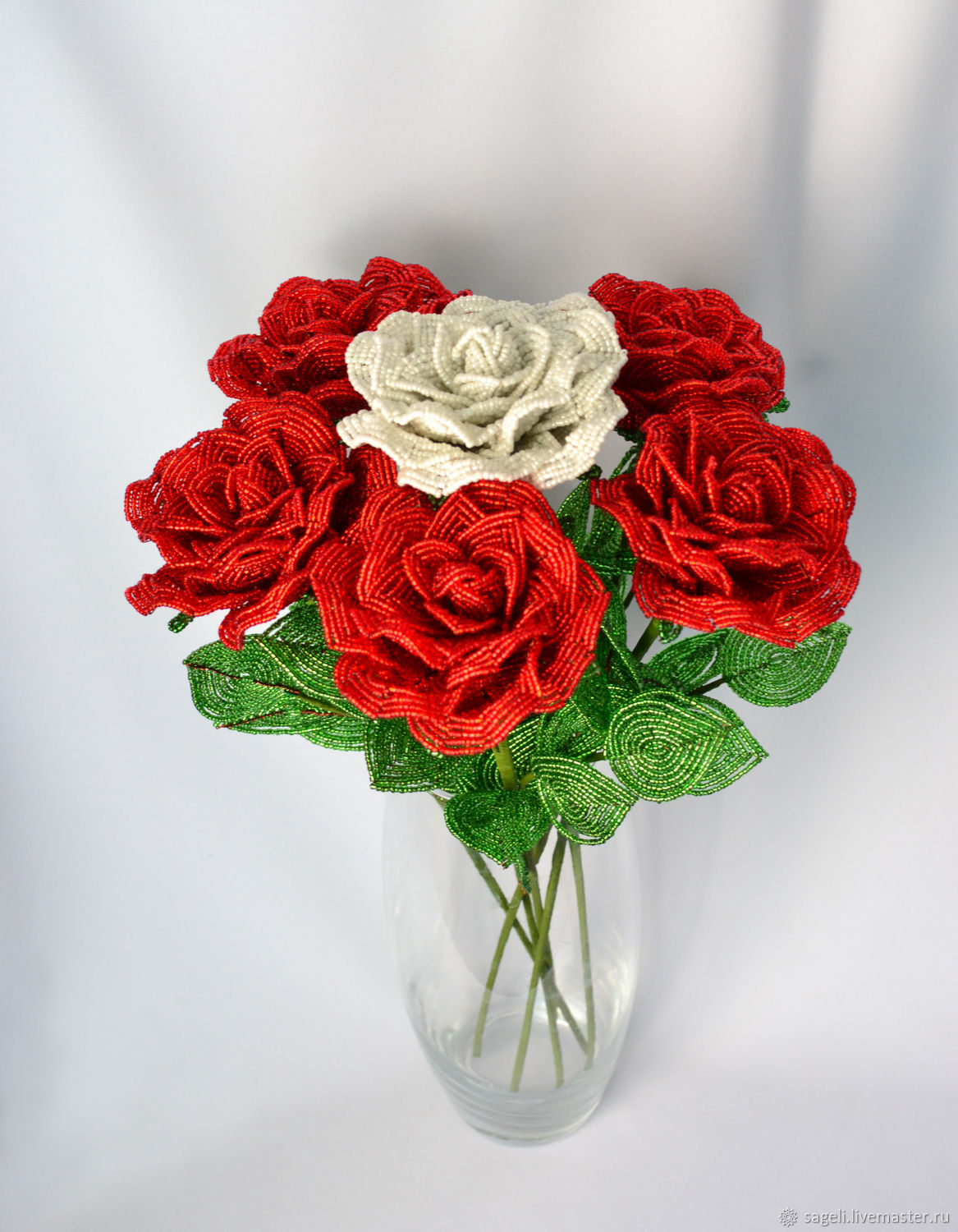 Beaded flowers Bouquets full of roses, Bouquets, Krasnodar,  Фото №1