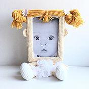 Куклы и игрушки ручной работы. Ярмарка Мастеров - ручная работа Фоторамка Балерина. Handmade.