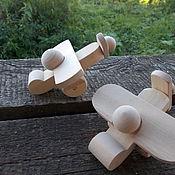Куклы и игрушки ручной работы. Ярмарка Мастеров - ручная работа Самолётик. Handmade.