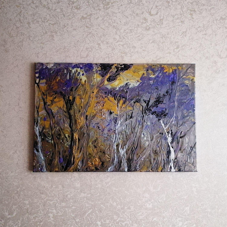 Картины акрилом на холсте в ассортименте, Картины, Москва,  Фото №1