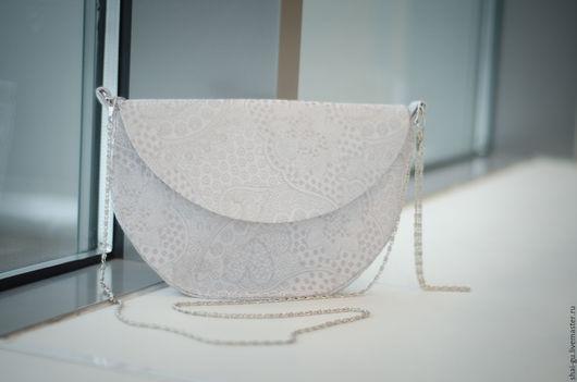"""Женские сумки ручной работы. Ярмарка Мастеров - ручная работа. Купить сумка-клатч """"Tenderness"""". Handmade. Серый, клатч, ткань"""