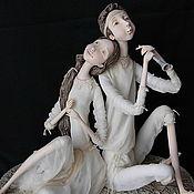 "Куклы и игрушки handmade. Livemaster - original item ""Melody for Two"". Handmade."
