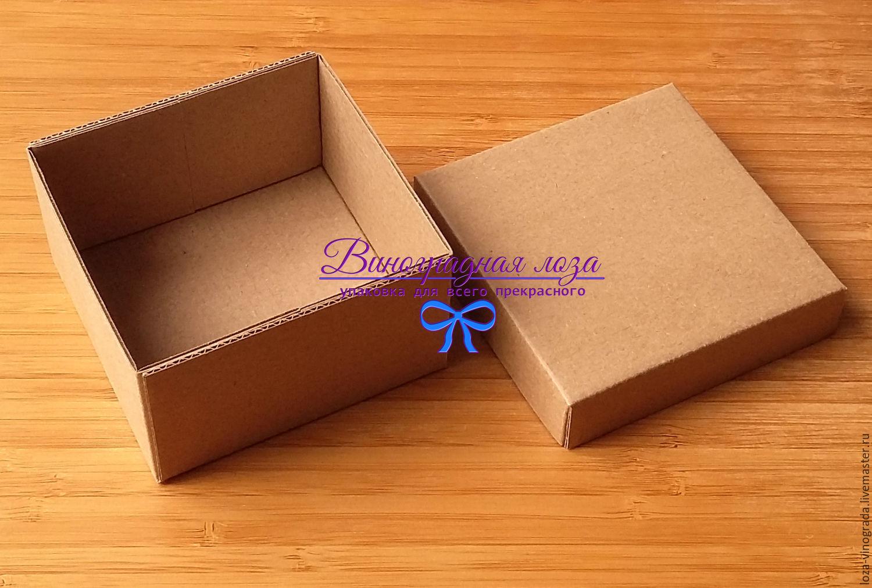 Коробочка-шкатулка из картона
