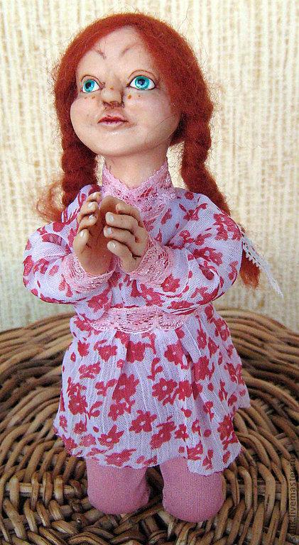 """Коллекционные куклы ручной работы. Ярмарка Мастеров - ручная работа. Купить """"Услышь меня.....!!!"""" - авторская кукла. Handmade."""