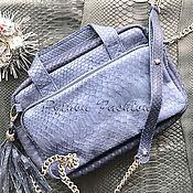 Сумки и аксессуары handmade. Livemaster - original item Available-Margo Python Handbag. Handmade.