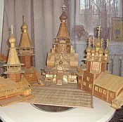 Подарки к праздникам ручной работы. Ярмарка Мастеров - ручная работа Продам точную копию храма (есть другие работы и на заказ). Handmade.