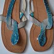 Обувь ручной работы handmade. Livemaster - original item Sandal
