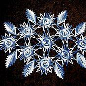 """Для дома и интерьера ручной работы. Ярмарка Мастеров - ручная работа Салфетка """"Листопад"""". Handmade."""