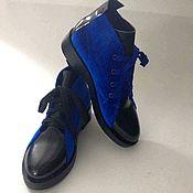 Ботинки ручной работы. Ярмарка Мастеров - ручная работа Ботинки 129. Handmade.