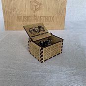 Музыкальные инструменты handmade. Livemaster - original item Music Box How Deep Is Your Love (Bee Gees). Handmade.