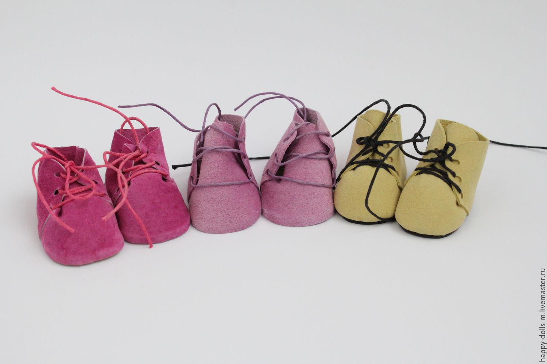 Куклы своими руками мастер класс обувь