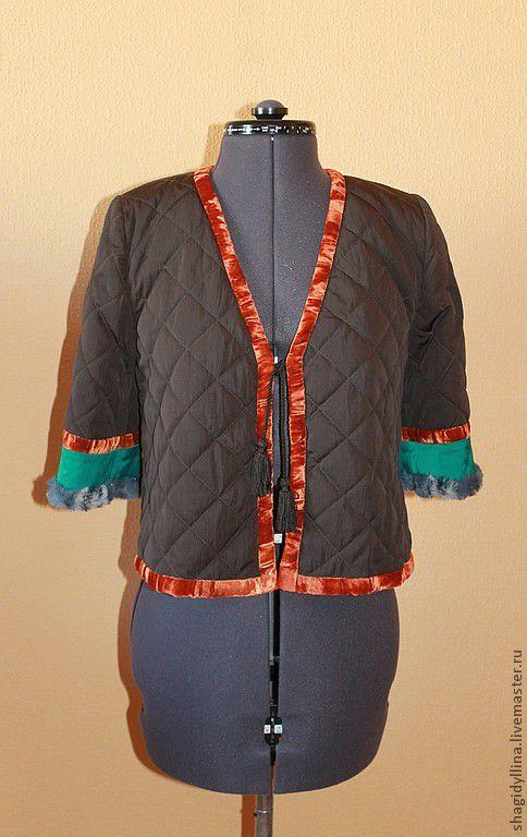 """Этническая одежда ручной работы. Ярмарка Мастеров - ручная работа. Купить Курточка стеганная """"Султанка"""". Handmade. Куртка, укороченная куртка"""