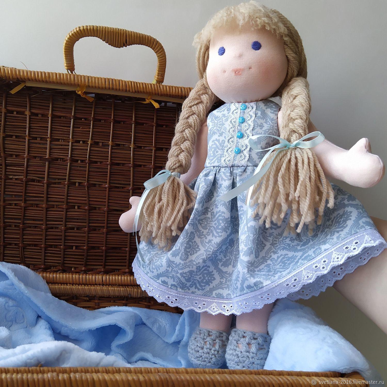 Вальдорфская игрушка: Кукла, Вальдорфские куклы и звери, Челябинск,  Фото №1