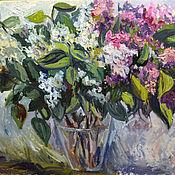 Картины и панно handmade. Livemaster - original item A bouquet of lilacs. Handmade.