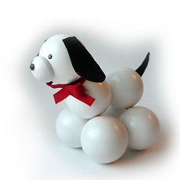 """Куклы и игрушки ручной работы. Ярмарка Мастеров - ручная работа Символ 2018 года Игрушка """"Собачка"""". Handmade."""