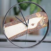Для дома и интерьера ручной работы. Ярмарка Мастеров - ручная работа Часы в металлической рамке. Handmade.