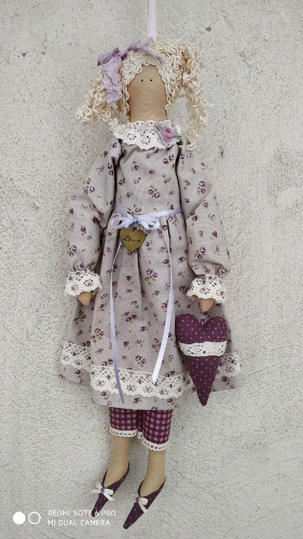 Тильда.. Интерьерная кукла, Куклы Тильда, Алматы,  Фото №1
