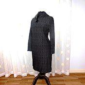 Платье мерцание  серебра  60е