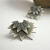 Украшения handmade. Livemaster - original item Silver earrings