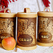 Посуда handmade. Livemaster - original item A set of birch bark containers from bark the