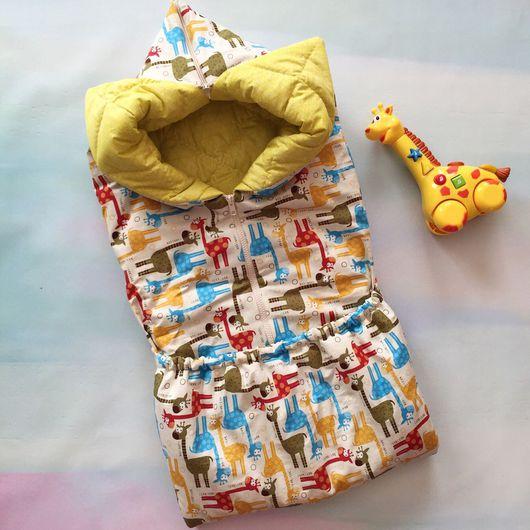 Для новорожденных, ручной работы. Ярмарка Мастеров - ручная работа. Купить Конверт-трансформер. Handmade. Конверт, одеяло детское