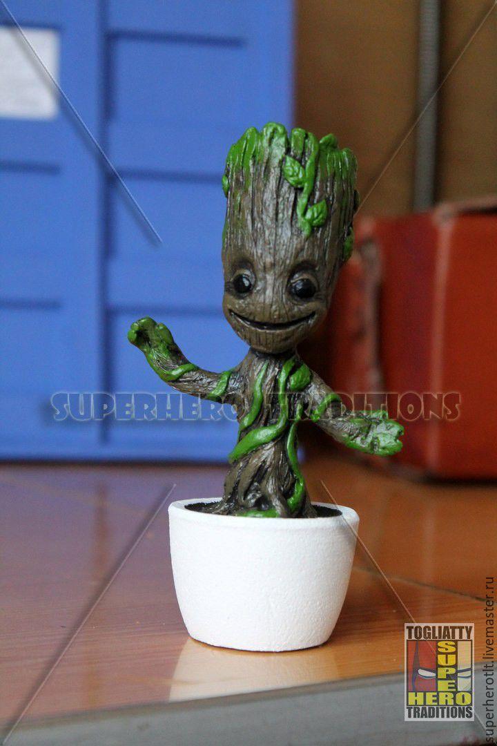 """Малыш Грут (Little Groot) из фильма """"Guardians Of The Galaxy"""", Статуэтки, Тольятти,  Фото №1"""