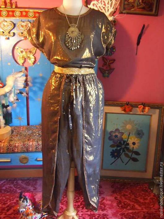 Одежда. Ярмарка Мастеров - ручная работа. Купить Шикарный костюм INDIA Франция PRET-A-PORTER Винтаж. Handmade.