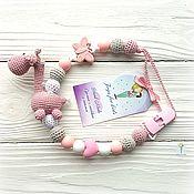 Работы для детей, handmade. Livemaster - original item Nipple holder