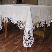 Для дома и интерьера ручной работы. Ярмарка Мастеров - ручная работа Скатерть № 14. Handmade.