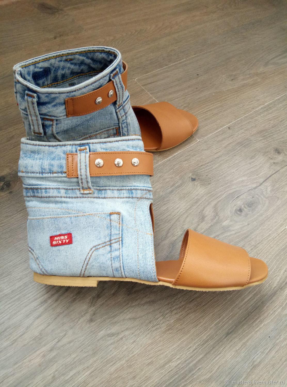 1c41fa01b Обувь ручной работы. Ярмарка Мастеров - ручная работа. Купить  Босонодки-сапожки.