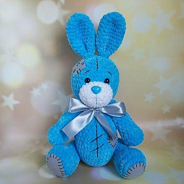 Куклы и игрушки ручной работы. Ярмарка Мастеров - ручная работа Плюшевый Зайка Тедди. Handmade.