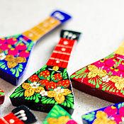 Сувениры и подарки handmade. Livemaster - original item balalaika magnet. Handmade.