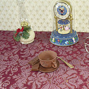 Для дома и интерьера handmade. Livemaster - original item Tablecloth the Color of red wine - Bordeaux. Handmade.