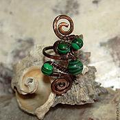 Украшения handmade. Livemaster - original item the ring is made of copper. Handmade.