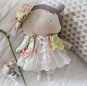 Куклы и игрушки ручной работы. Ярмарка Мастеров - ручная работа Игровая куколка Тильда Малышка. Handmade.