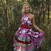 Одежда ручной работы. Ярмарка Мастеров - ручная работа Розовые розы. Handmade.