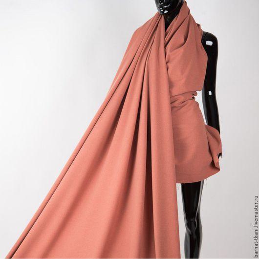 Шитье ручной работы. Ярмарка Мастеров - ручная работа. Купить Шерстяная костюмная ткань. Итальянская ткань. Handmade. Рыжий