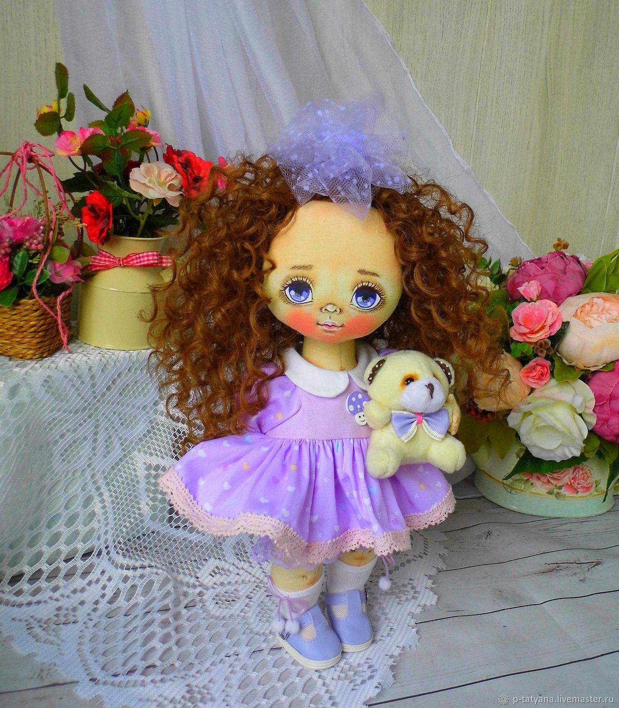 Ниночка. Текстильная кукла, Куклы и пупсы, Буй,  Фото №1