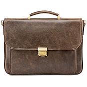 Сумки и аксессуары handmade. Livemaster - original item Leather briefcase