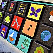 Для дома и интерьера ручной работы. Ярмарка Мастеров - ручная работа Кармашки для шкафчика. Handmade.