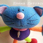Куклы и игрушки ручной работы. Ярмарка Мастеров - ручная работа Разноцветный кот. Handmade.