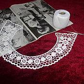 Аксессуары handmade. Livemaster - original item Lace collar No. №8. Handmade.