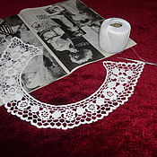 Collars handmade. Livemaster - original item Lace collar No. №8. Handmade.