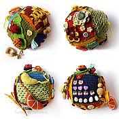 Куклы и игрушки ручной работы. Ярмарка Мастеров - ручная работа Развивающий кубик 25. Handmade.