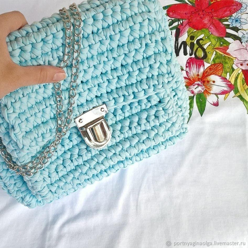 21d53ada2298 Вязаная сумка